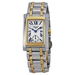 Longines Dolce Vita Silver Dial Two-tone Ladies Watch L55025707