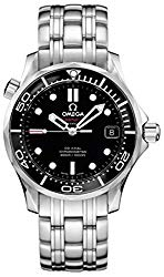 Omega 212.30.36.20.01.002 Seamaster Automatic Unisex Watch – Black Dial