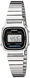 Casio Women's LA670WA-1 Daily Alarm Digital Watch