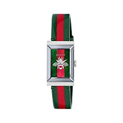 Gucci G-Frame Watch Green/Red One Size