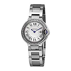 Cartier Ballon Bleu Diamond Ladies Watch W4BB0015