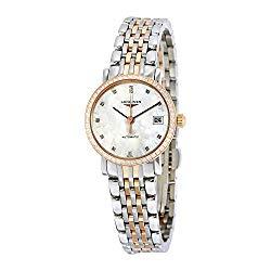 Longines Elegent Ladies Automatic Pink Gold & Diamonds 25 MM – L4.309.5.88.7