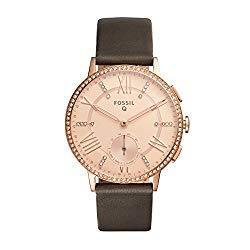 Fossil Hybrid Smartwatch – Q Gazer Gray Leather
