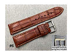 Vietnamcreations 100% Handmade Crocodile Stingray Lizard Watch strap band
