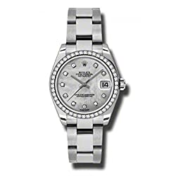 Rolex Datejust Lady 31 Mother of Pearl Dial Stainless Steel Oyster Bracelet Automatic Watch 178384MDO