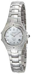 Seiko Women's SXDA37 Coutura Diamond Silver-Tone Watch
